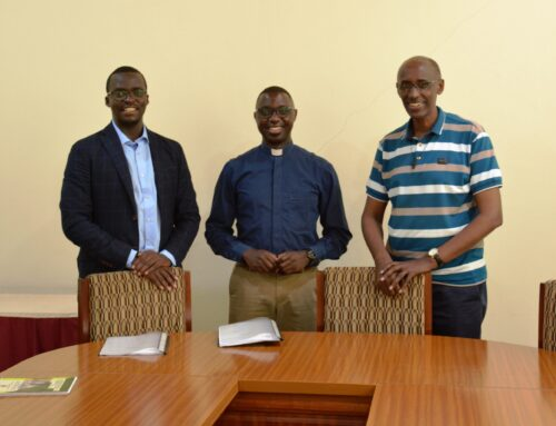 JUC bids farewell to Fr. Patrice, welcomes Fr. Ernest as its new director